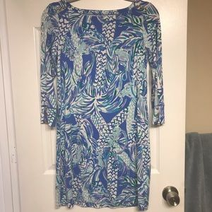 Lilly Pulitzer dress casual tropical dress size S